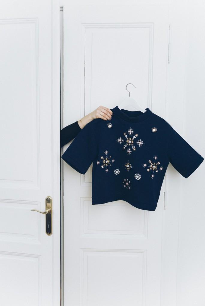 H&M Shirt dark blue