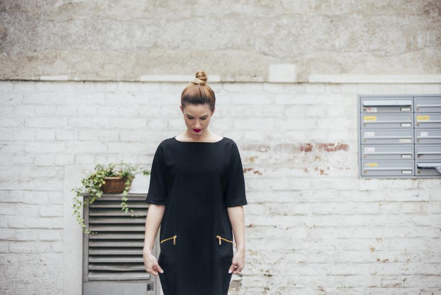 black dress classic style