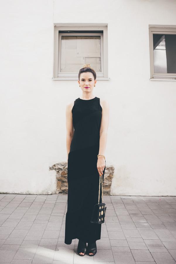 purstyle black dress assembly