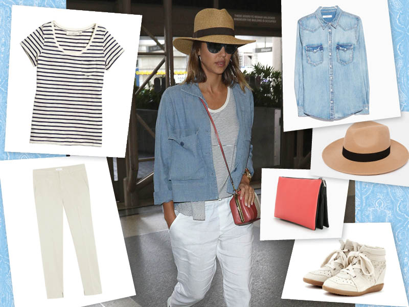 Street Style Jessica Alba - Pur Style