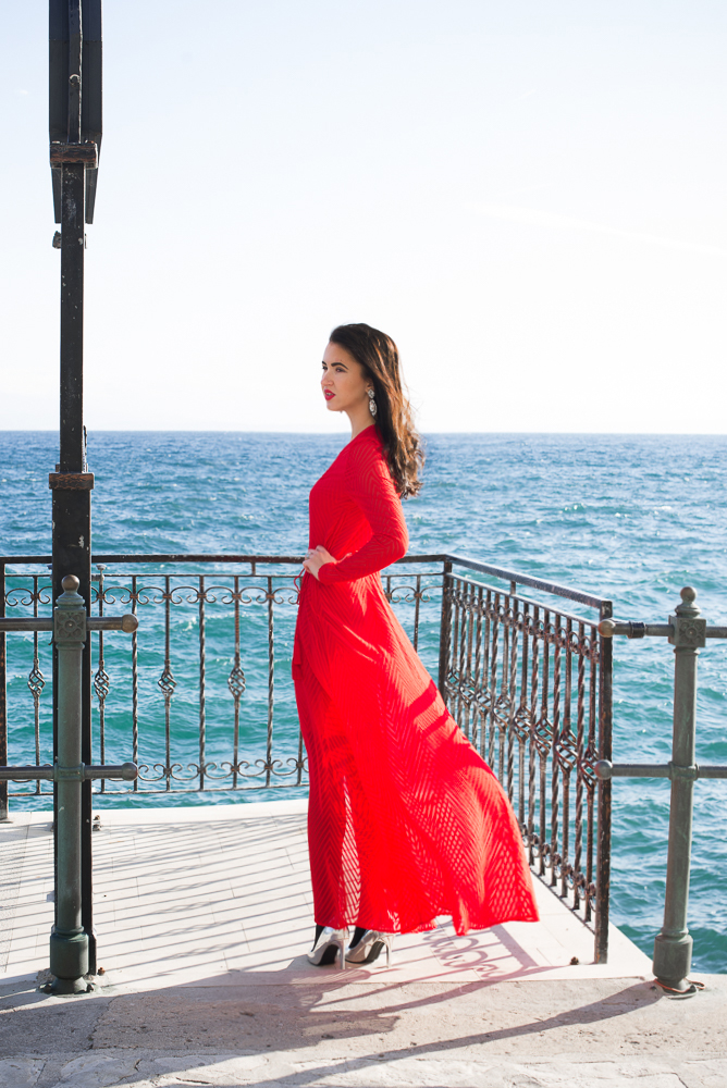 Red sails in the sunset Red dress for NYE – Pur Style